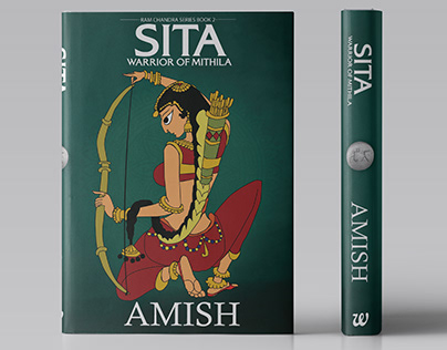 Sita by Amish | Book Cover Dust Jacket
