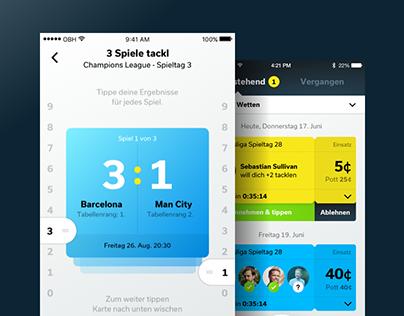 tackl social betting app