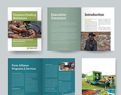 Report Formatting for Farm Alliance of Baltimore