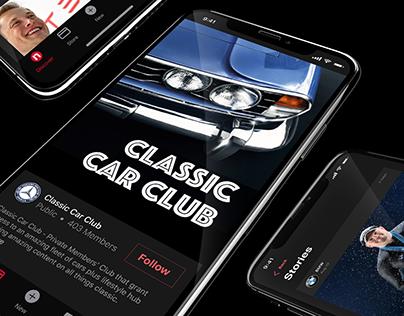 SHOW OFF YOUR CAR - Mobile App Design