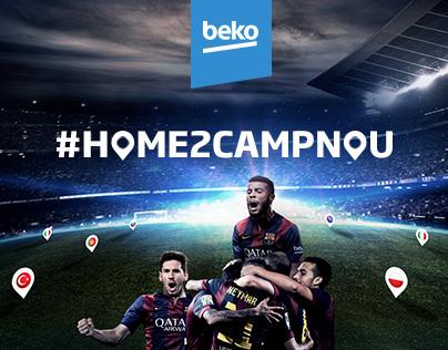 Beko x FC Barcelona - Global Digital Campaign