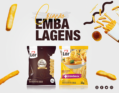 Embalagens • Batatas Lar Cooperativa Agroindustrial