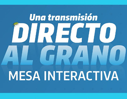 """Lanzamiento """"Directo al Grano"""""""