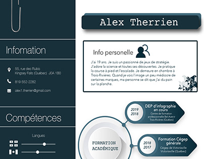 CV -Alex Therrien