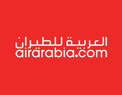 Airarabia Rebranding concept