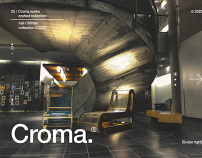 Croma Fall/Winter 2020 collection graphics exploration