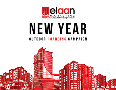 Elaan New Year Outdoor Campaign