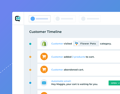 UI animation - customer service