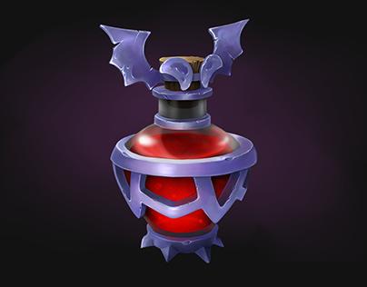 Vampire potion (Props Design)