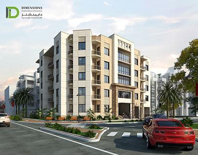 Residential Building (2B+G+4F)