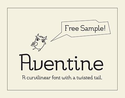 Aventine Regular Font