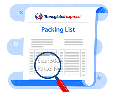 Sending a parcel? How to complete your Packing List