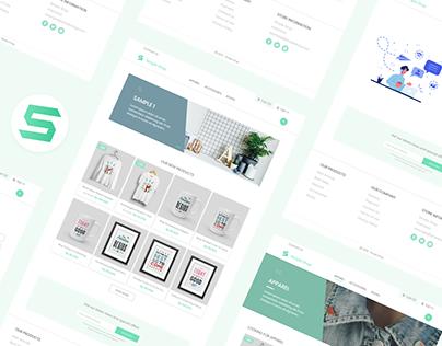 Simple Shop - E Commerce Website