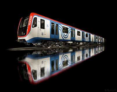 """The """"Moskva"""" train."""