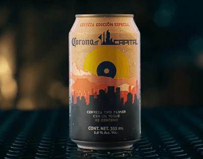 Corona Capital - Cerveza Edición Especial