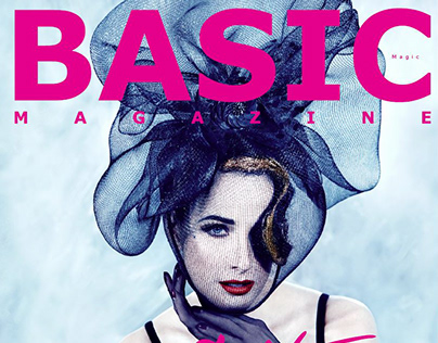 BASIC Magazine. Dita von Teese