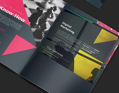 360Consulting Brochure Folder Design