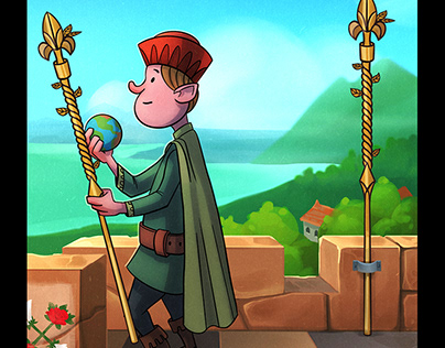 "Tarot card ""second of wands"""