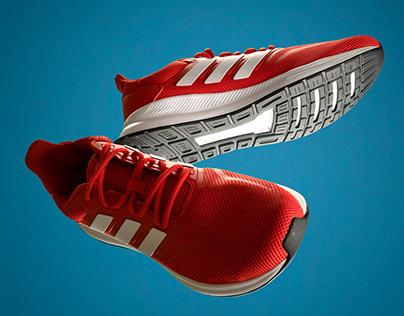 Adidas Runfalcon high speed shutter shoot