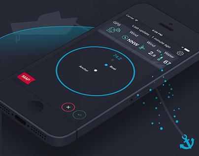 iOS Anchor Watcher - Mobile App -