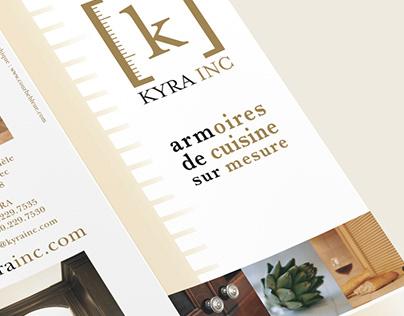 DESIGN GRAPHIQUE Kyra inc. armoires de cuisine