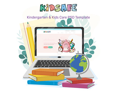 KIDSAFE - Kindergarten & Kids Care Website