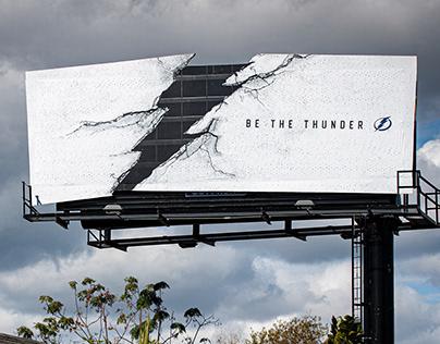 Tampa Bay Lightning Outdoor Board