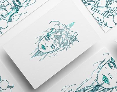 Floral Portrait Graphics