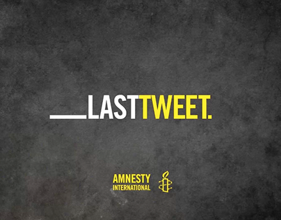 "Amnesty International ""Last Tweet"""