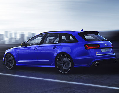 Audi RS 6 - VRED