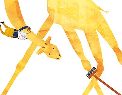 I always wanted a giraffe