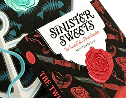 Sinister Sweets Chocolate Packaging