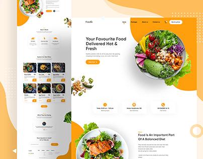 Foodie Landing Page