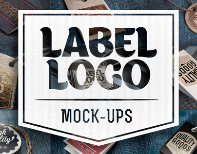 Label logo Mock-Ups