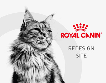 Редизайн сайта ROYAL CANIN