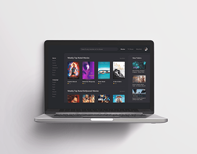 UI Daily challenge - Streaming service