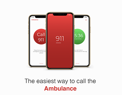 Ambulance app design