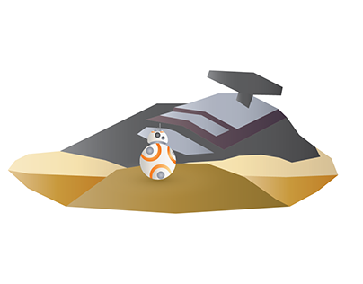 BB-8 Explores New Worlds