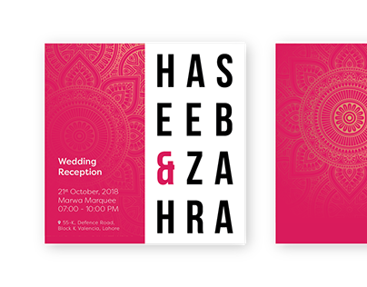 Haseeb & Zahra