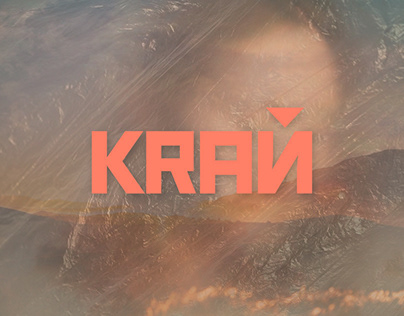KRAЙ ECO-COMMUNITY Logo Design