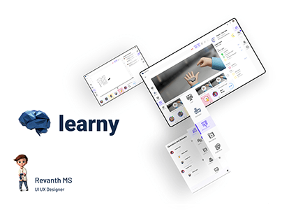 Learny - Online teaching Interface