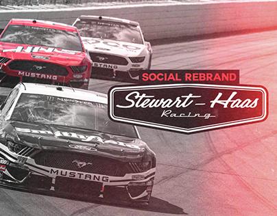 Stewart-Haas Racing Social Rebrand