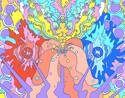 Psychedelic illustration
