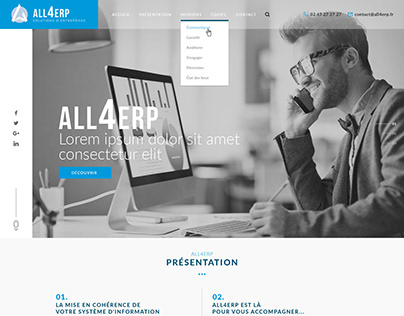 Freelance Project - ERP