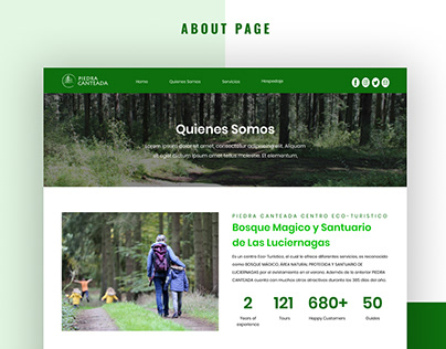 Forest Tours and Travel Website
