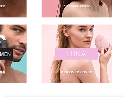 FOREO website