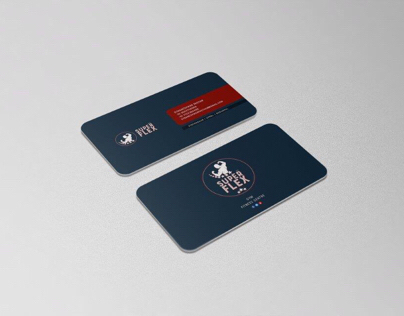 Business card design for Superflex gym