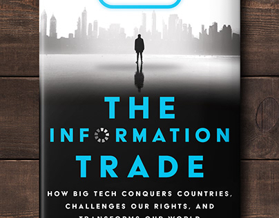 The Information Trade Book Cover Design