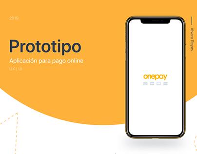 Prototipo app de pago
