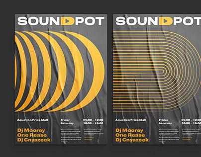 Soundpot Logo & Corporate Style Design
